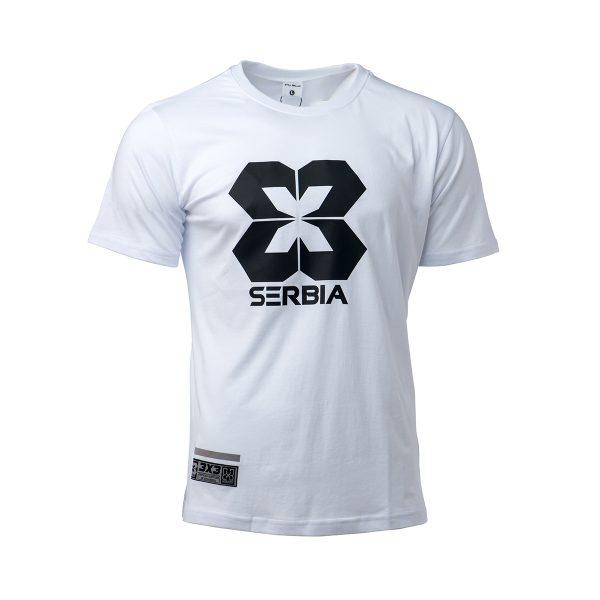 Pamučna majica - bela