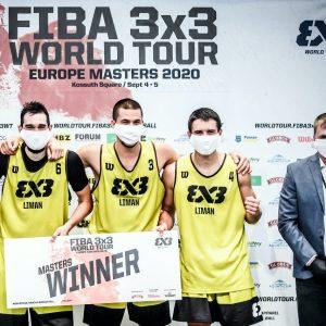 Liman ponovo osvajač FIBA 3×3 Mastersa